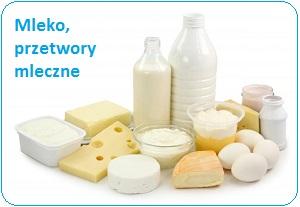 Mleko i przetwory mleczne - sprawdź tabelę kaloryczną!